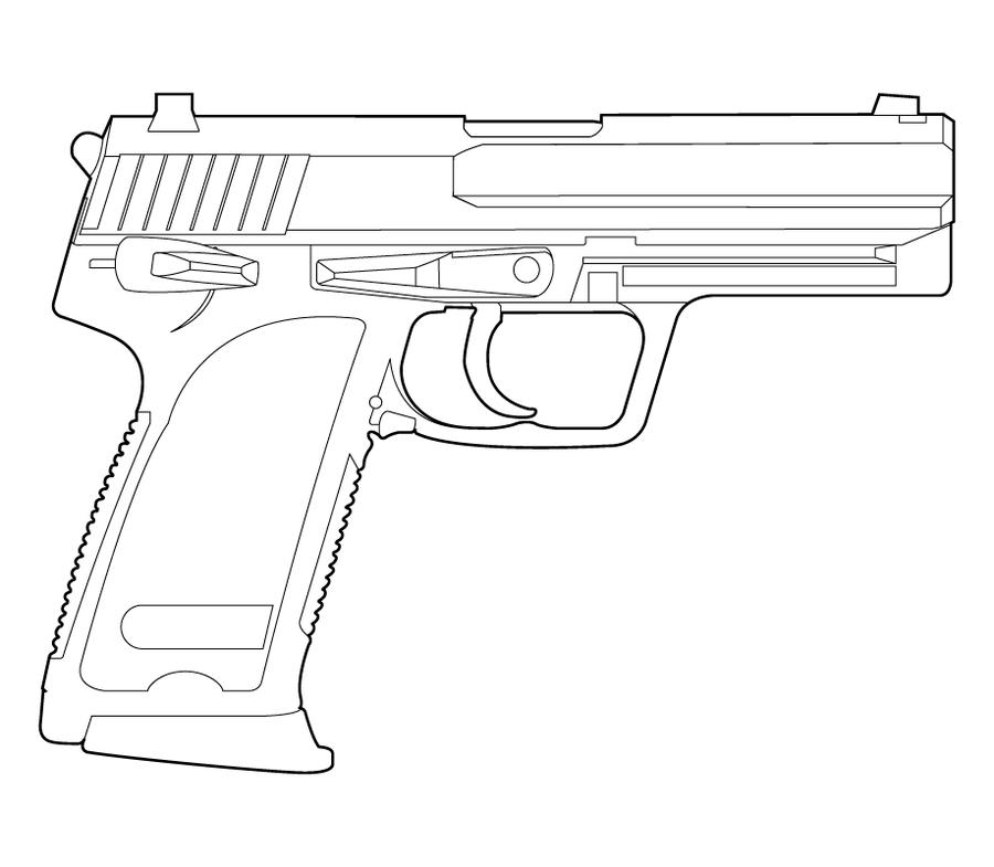 Line Art Gun : Hk line drawing combat weaponry pinterest weapons