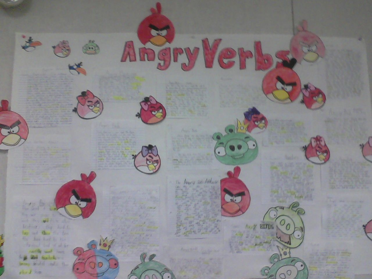 I Subbed For A Classroom And The Teacher Used Angry Birds