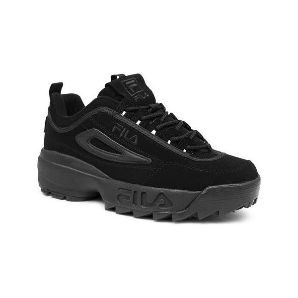 fila disruptor mens. men\u0027s fila disruptor ii - triple black casual (\u20ac67) ❤ liked on polyvore mens