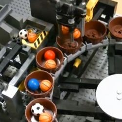 The Lego Great Ball Contraption by Aklyuky