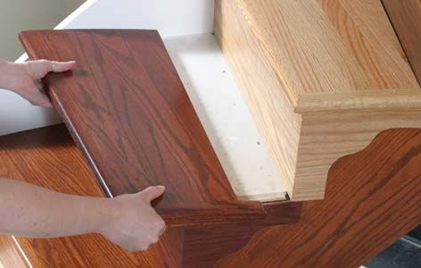 Exceptional Signature WoodCrafters: Wood Stairs Recrafting