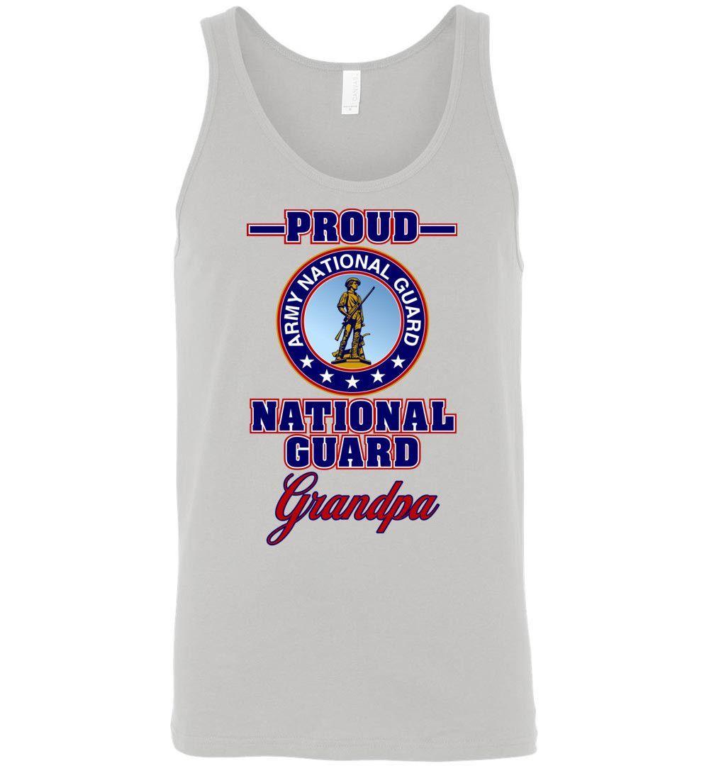 Proud U.S. Army National Guard Grandpa Unisex Tank