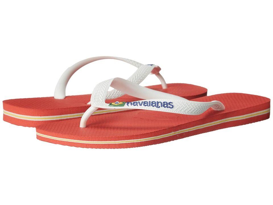 c2b2563a67cb HAVAIANAS HAVAIANAS - BRAZIL LOGO FLIP FLOPS (PUMPKIN) MEN S SANDALS.   havaianas  shoes