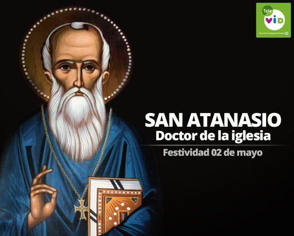 Ruega por nosotros #SanAtanasio protégenos, ayúdanos y concédenos una paz que reine por siempre en cada corazón.
