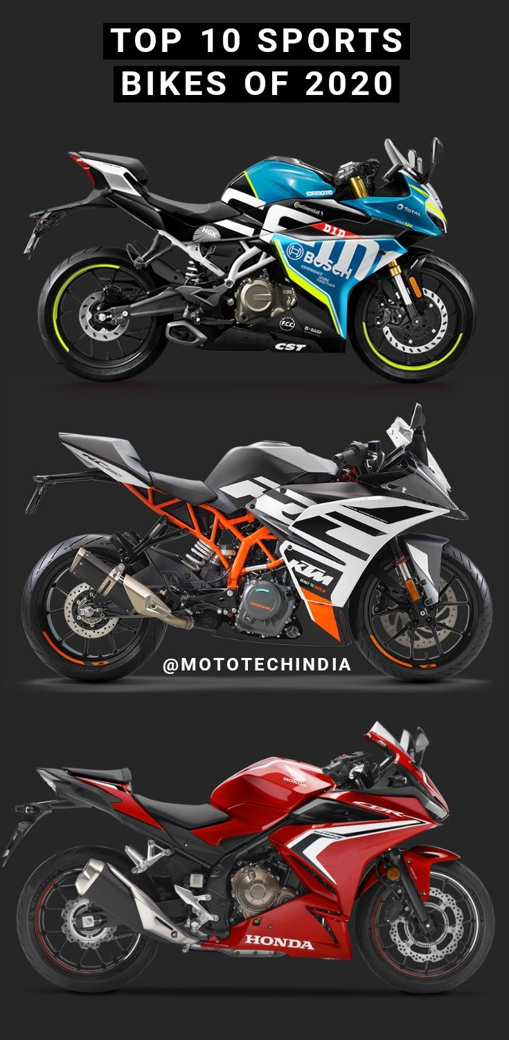 Top 10 best sports bikes of 2020 in 2020 Cool bikes