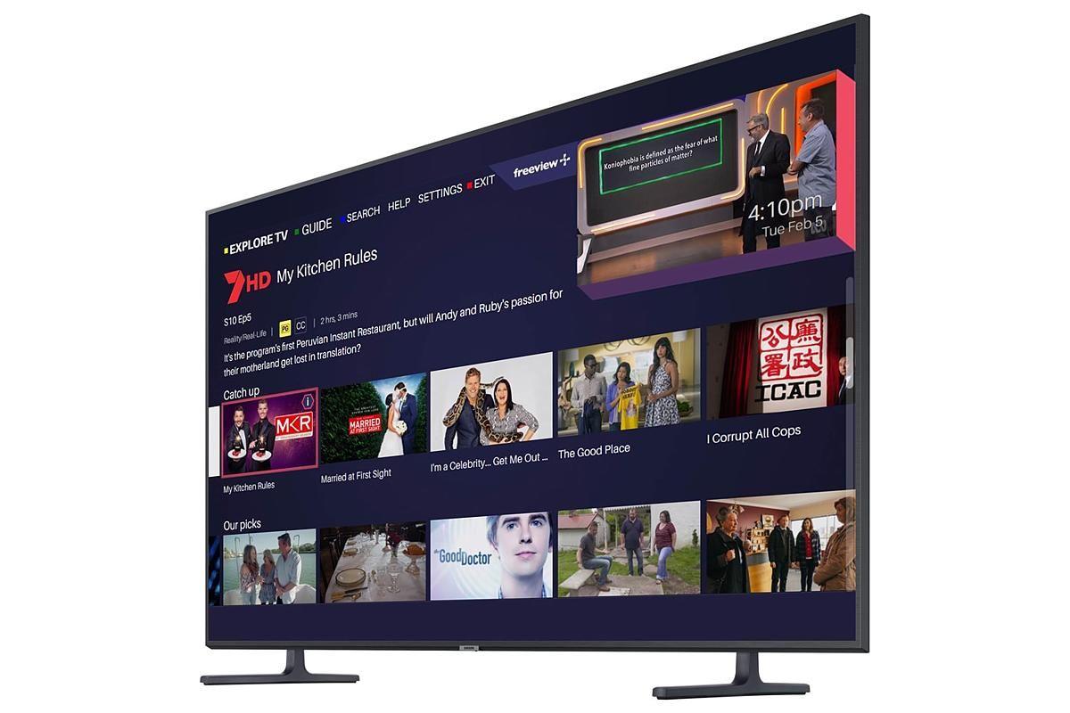 Samsung Series 8 Ru8000 55 4k Uhd Led Tv Led Tv Uhd Tv Tvs