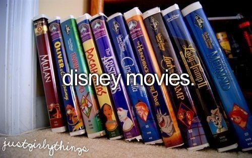 My love for Disney Movies