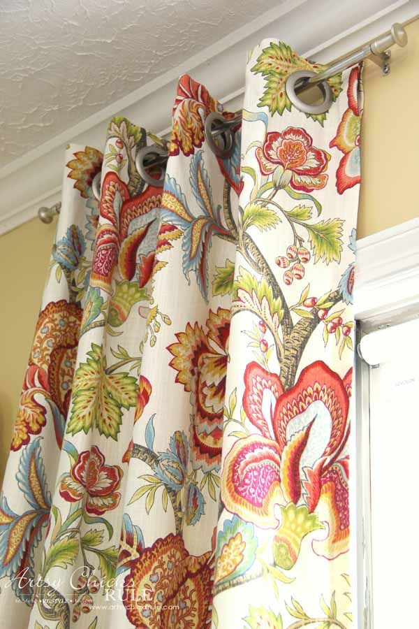 How To Make No Sew Curtains With Grommets Make Your Own