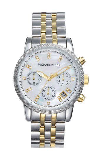e3ca5d481be3d Michael Kors  The Ritz  Chronograph Bracelet Watch