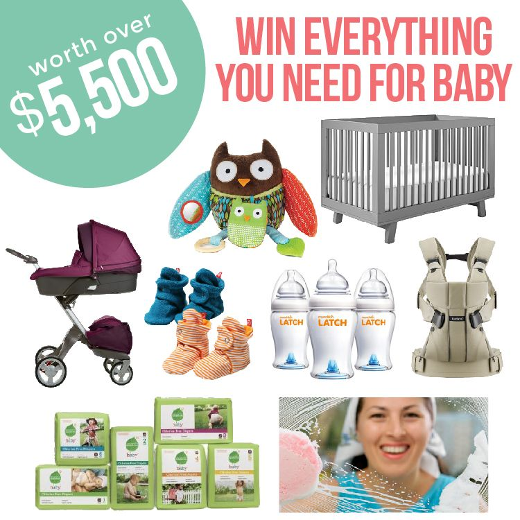 Win literally EVERYTHING you need for baby. @babylist is ...