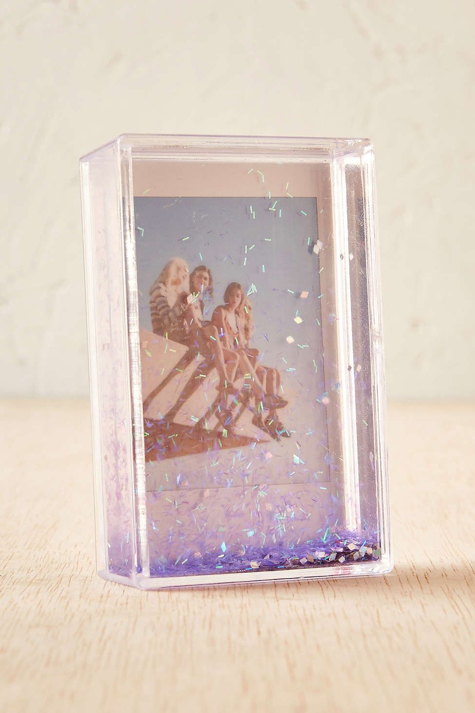 Mini Instax Glitter Picture Frame Lucite Glitter Picture Frames