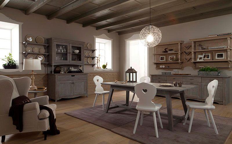 Tavolo Scandola ~ Soggiorno tabià by scandola tavolo tornito e sedie dal gusto