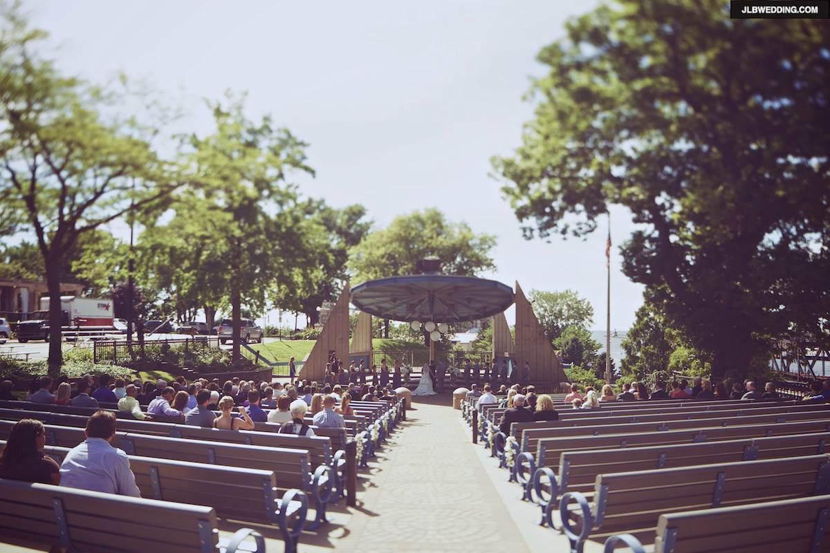 Our Wedding Venue The John E N Howard Bandshell St Joseph Mi Photo