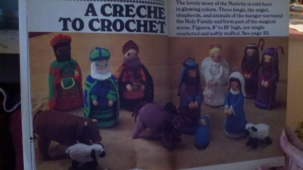 Free Crochet Nativity Patterns Crochet And Knitting Patterns
