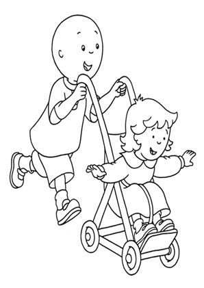 Caillou Ausmalbild Baby Coloring Pages Coloring Books Free Coloring Pages