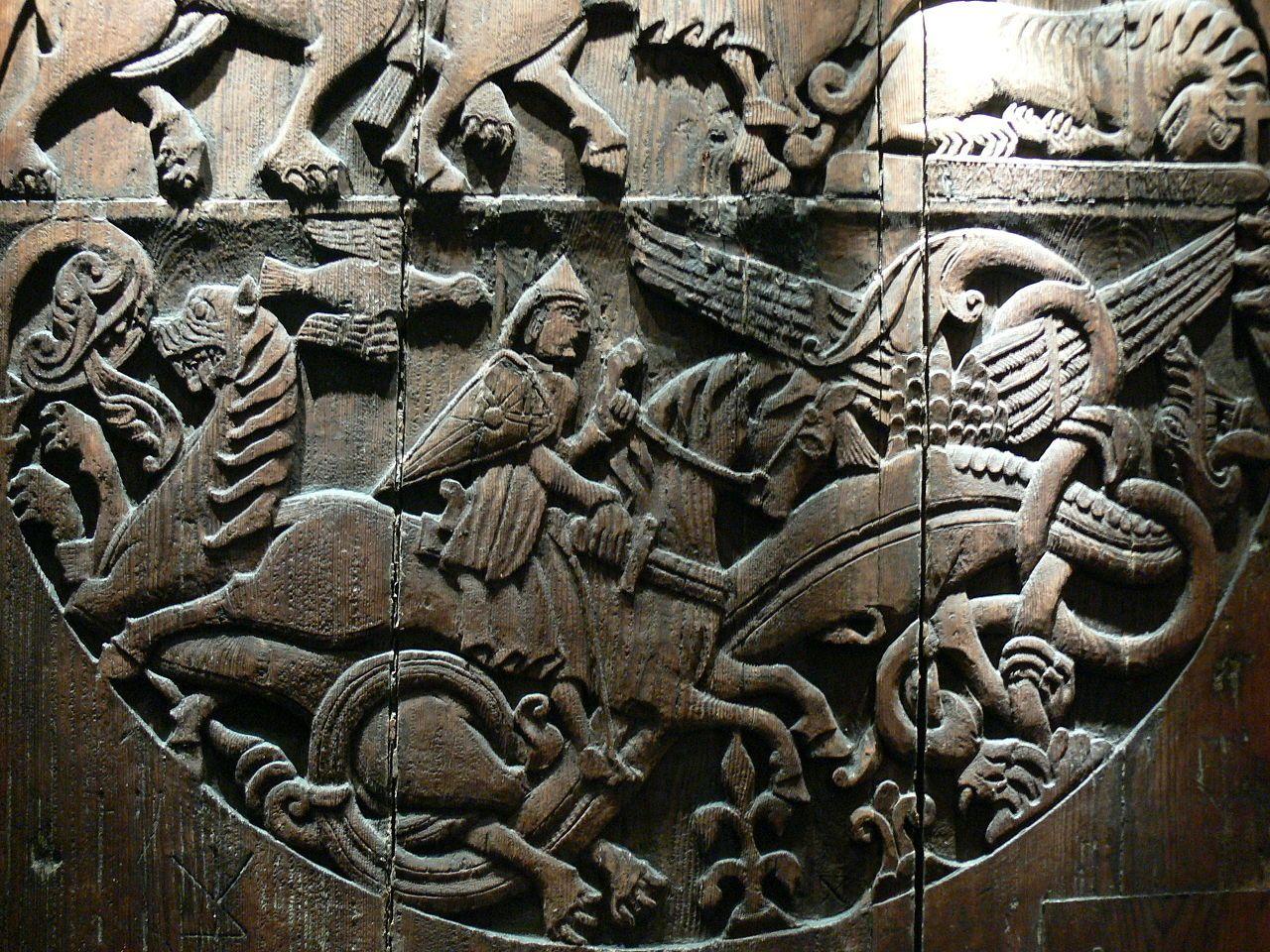 Valthjofsstadur Door Wikipedia The Free Encyclopedia Viking House Viking Art Doors