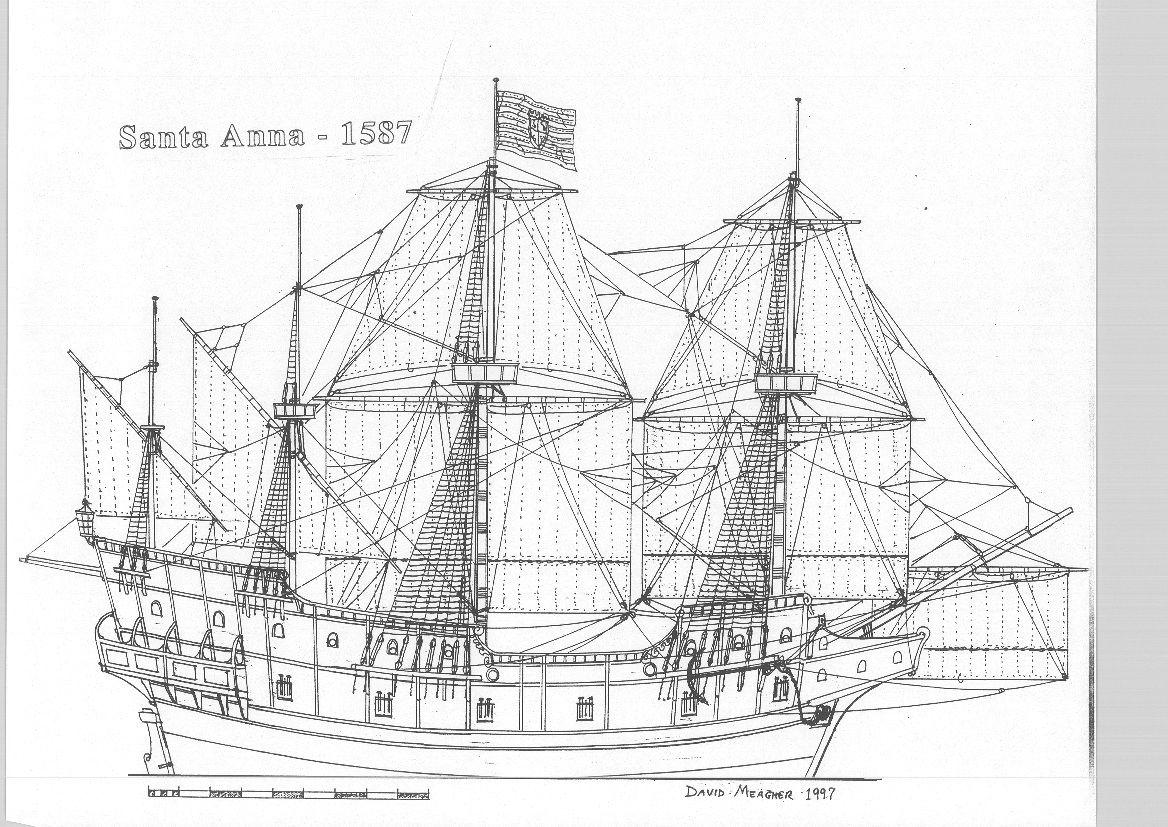 Galeón Santa Ana 1587