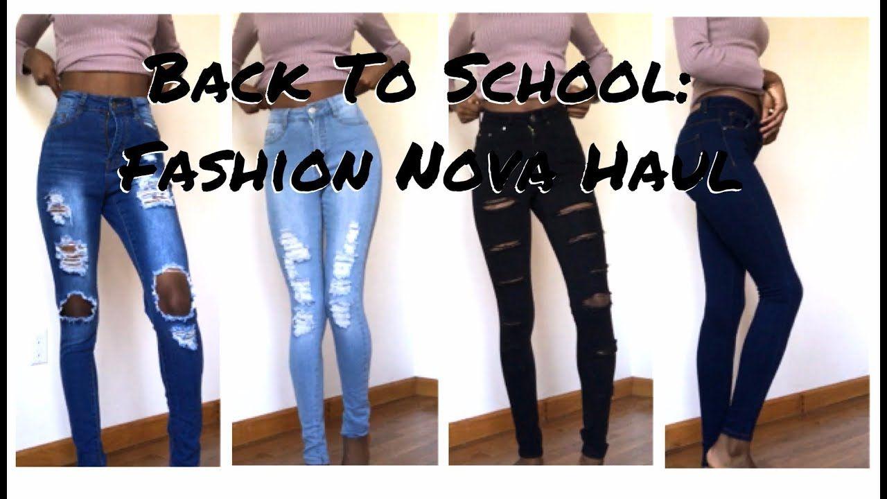 good texture browse latest collections buy good Back to School Haul pt. 1: Skinny Girl Fashion Nova Haul ...