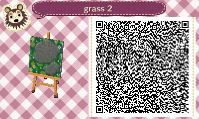 Acnlachhd Qr Codestone With Flowers Path Animal Crossing