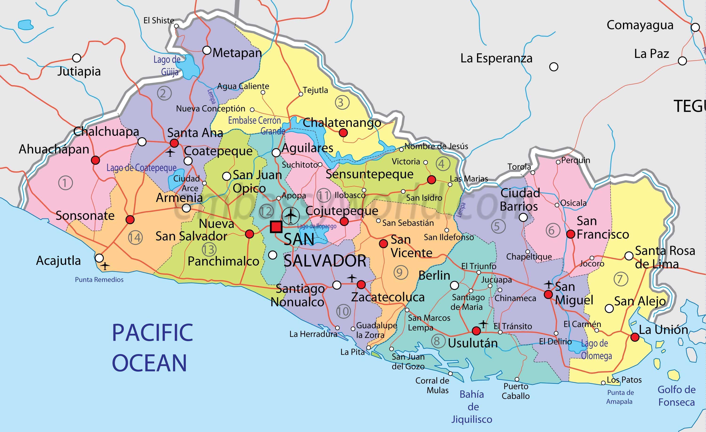Santa Ana Agua Caliente Ahuachapan Chalatenango El Salvador