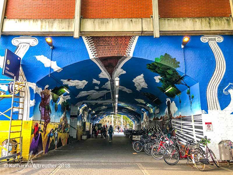 Streetart Walking Tour Durch Koln Ehrenfeld So Vielfaltig Und