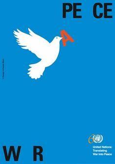 quitar guerra, poner paz.