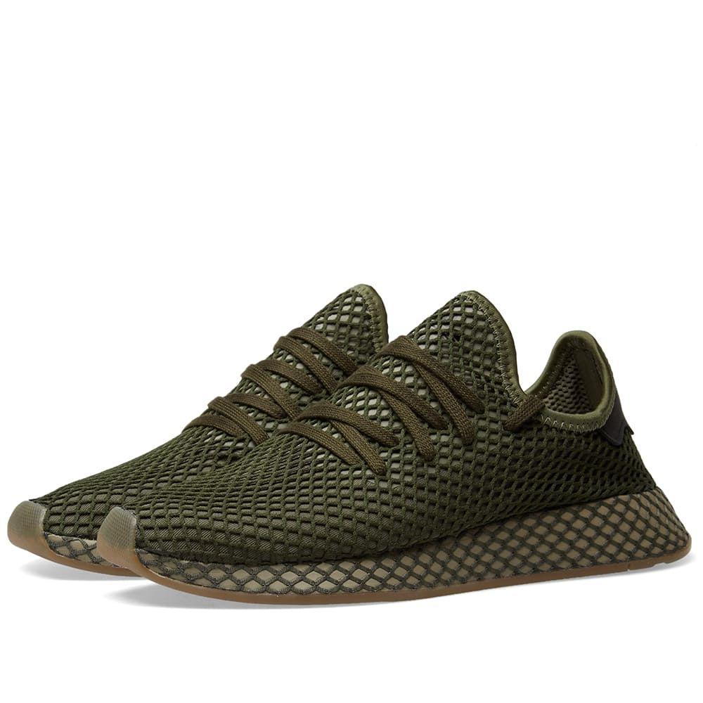 Schwarz Adidas Deerupt Runner Herren Originals Schuhe
