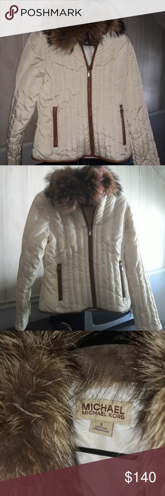Michael Kors Down Puffer Jacket Brand New Never Worn Mk Down Puffer Jacket Size Womens Small This Beauty Is An Ivory Cream Clothes Design Fashion Tips Puffer [ 1740 x 580 Pixel ]