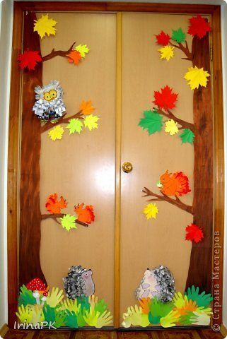 Puertas oto o 4 decoraci n de oto o educacion infantil for Decoracion puerta otono