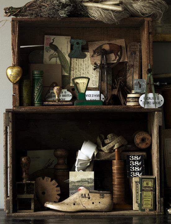 Designtraveller S Image Cabinet Of Curiosities Vintage Decor Assemblage Art