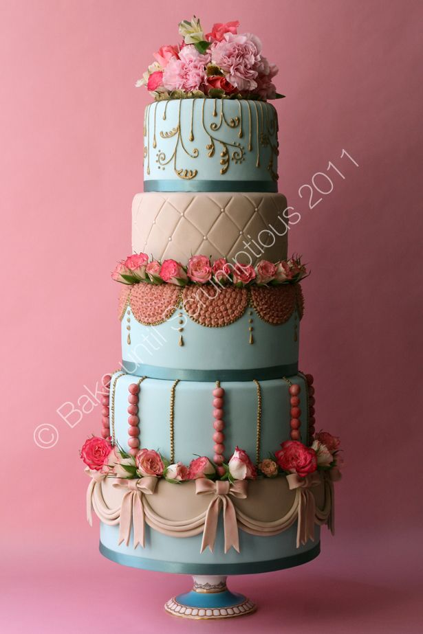 Rococo Marie Antoinette Cake Sweets And Decorations Pinterest
