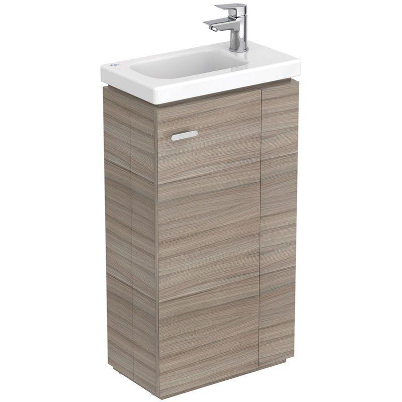 Ideal Standard Concept Space Elm Floor Standing Vanity Unit And