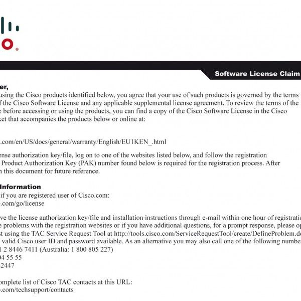 NEW Cisco L-PI12-LF-100 Prime Infrastructure Lifecycle Price