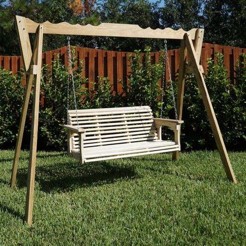 Beecham Swing Co Roll Bottom 4ft Wooden Swing Amp Stand
