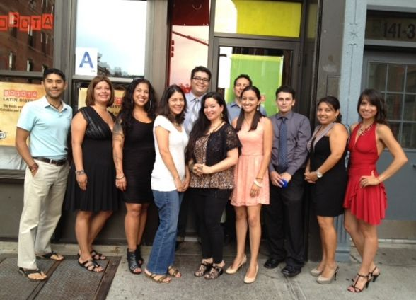 Group of Colombian Adoptees Meeting in NYC, June 2012.