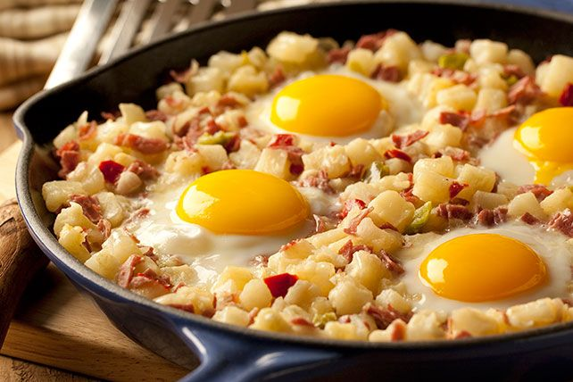 Photo of Cook up a diner classic with a corned beef hash skillet. The…