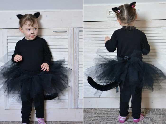 Katzenkostüm Basteln Kostüm Kostüm Katze Halloween Kostüm Baby
