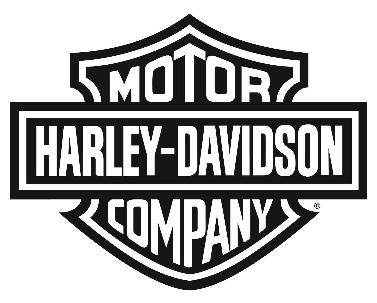 Harley Logo Black And White Vector Harley Davidson Pinterest - Stickers for motorcycles harley davidsons