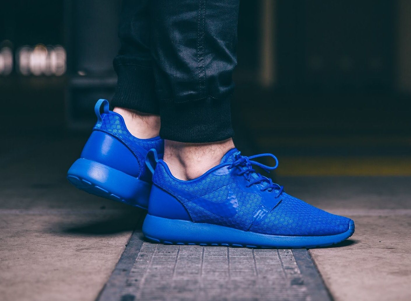 Nike Roshe Run Hyperfuse: Blue | Work it out and make it