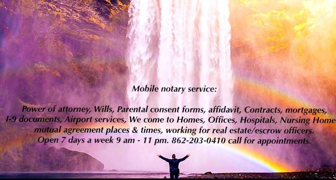 Notary Mobile Service Notary, Notary signing agent