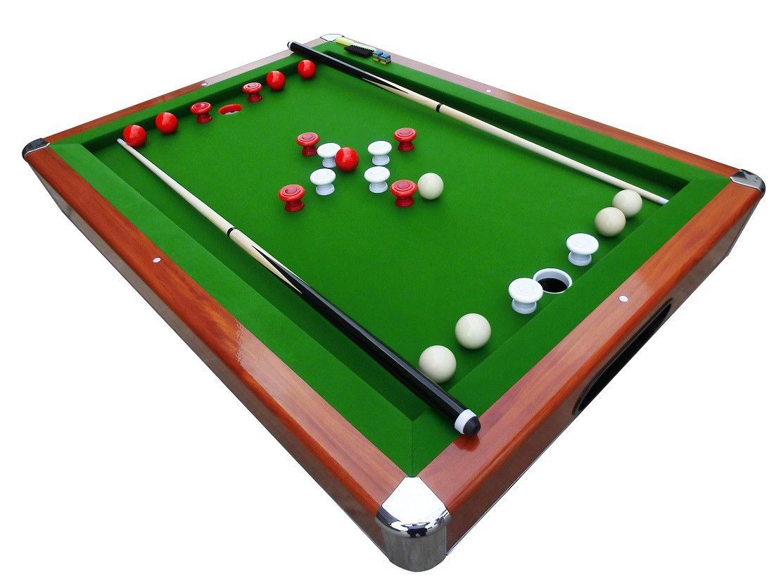 15mm Single Slate Playfield With 6 Mm MDF Backing Provides Authentic  Billiard Ball Roll And