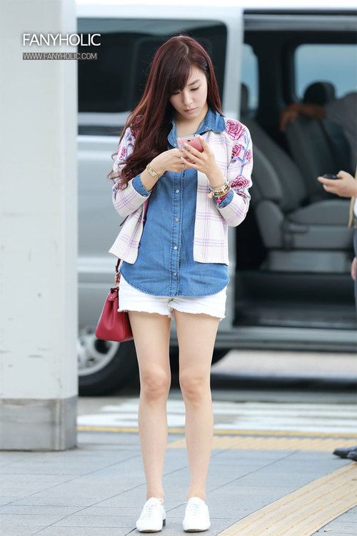 best sneakers 49fdd 1f5a2 Tiffany Airport fashion summer style | ティファニー | 韓国 ...