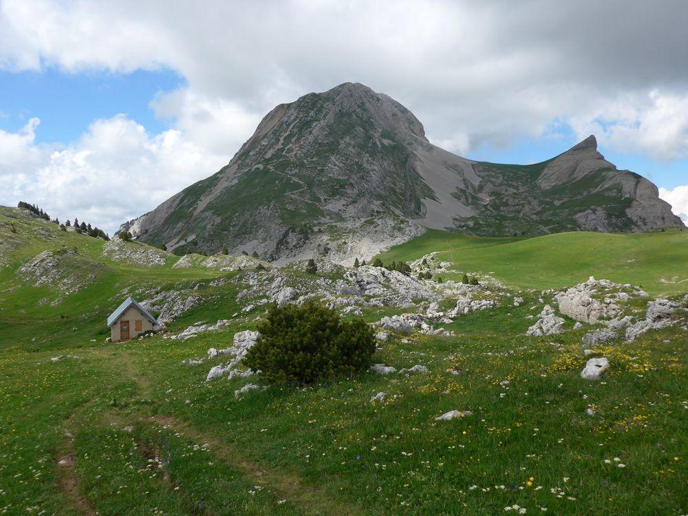 Veymont et cabane des Aiguillettes