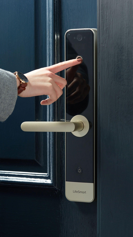 Smart Door Lock Smart Door Locks Home Technology Smart Home