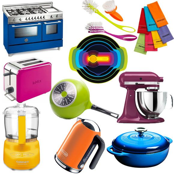 Colorful Accessories For A Vitalizing Kitchen Kitchen Accessories