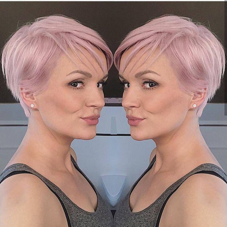 Immagine Pin | Tagli di capelli, Capelli corti rosa, Tagli ...