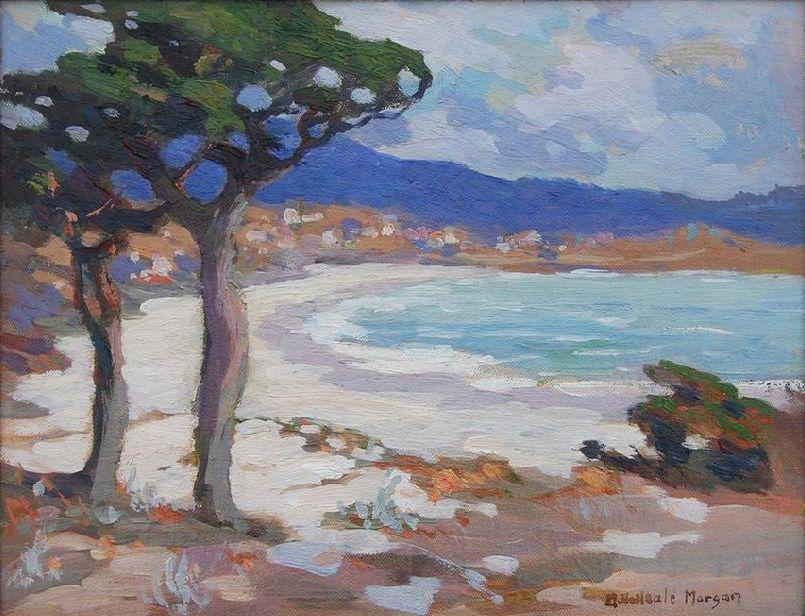 'Carmel Beach' Mary DeNeale (18681948