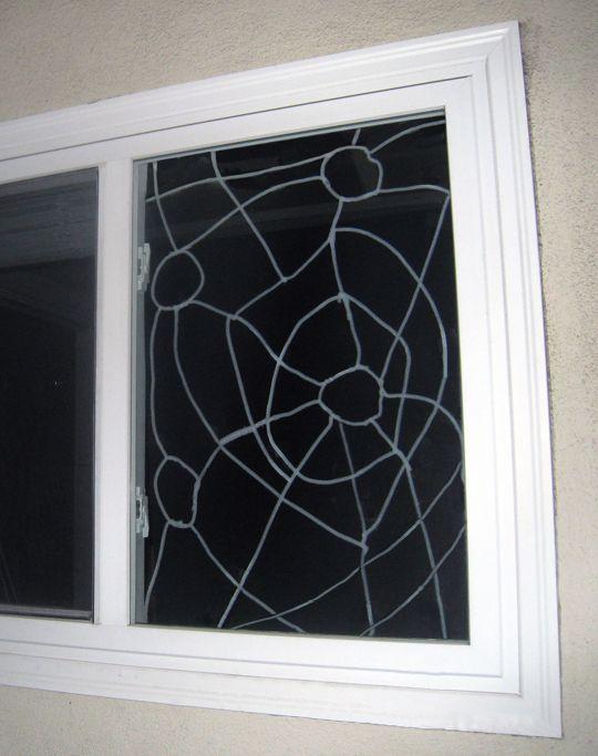 DIY Halloween Window Decorations Pinterest Halloween window - halloween window decorations