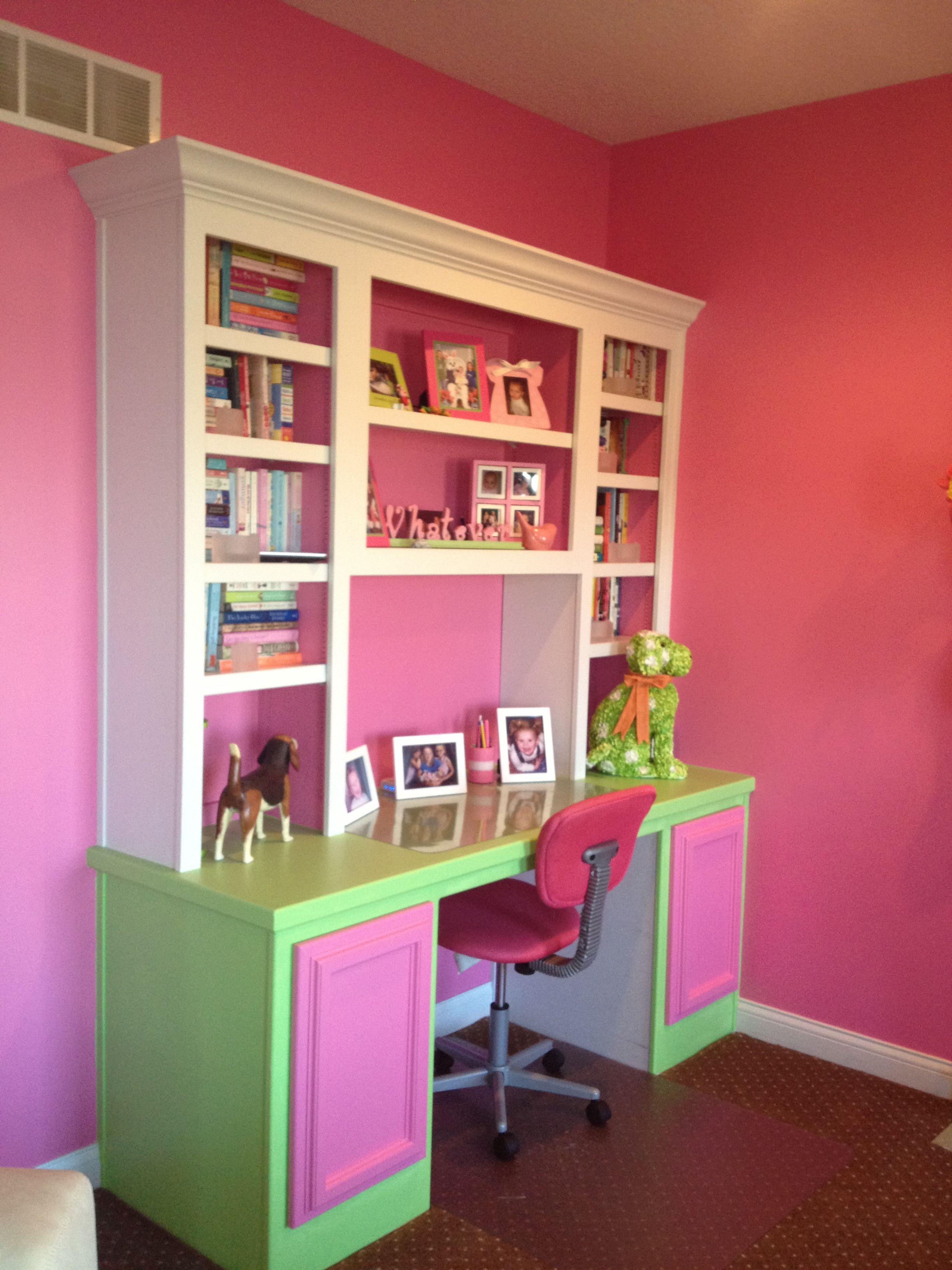 Live my living room desk area! | Desk in living room, Desk ...