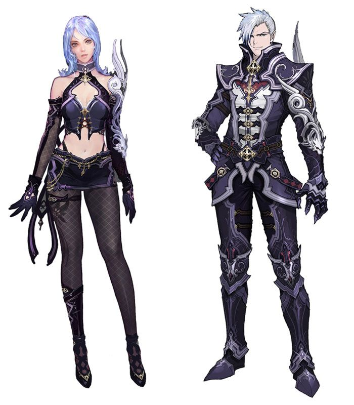 Character Design Nyc : Aion official art work design character